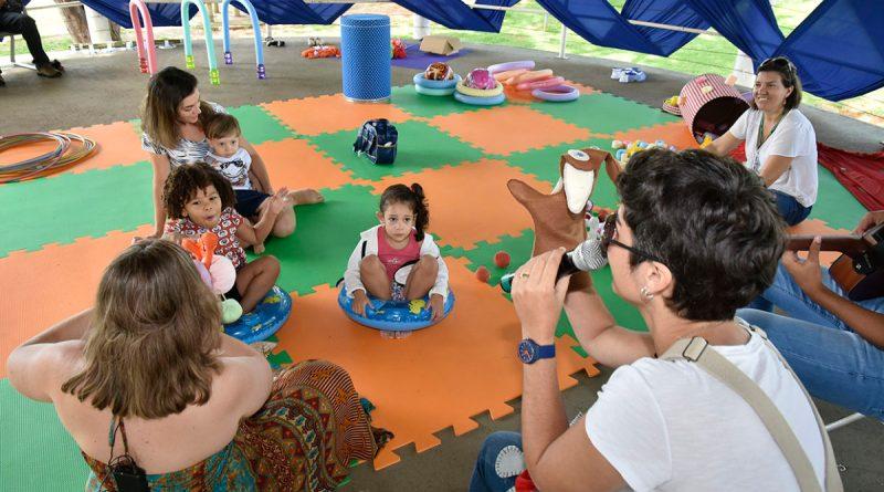 Edição especial das Crianças no Domingo no Parque