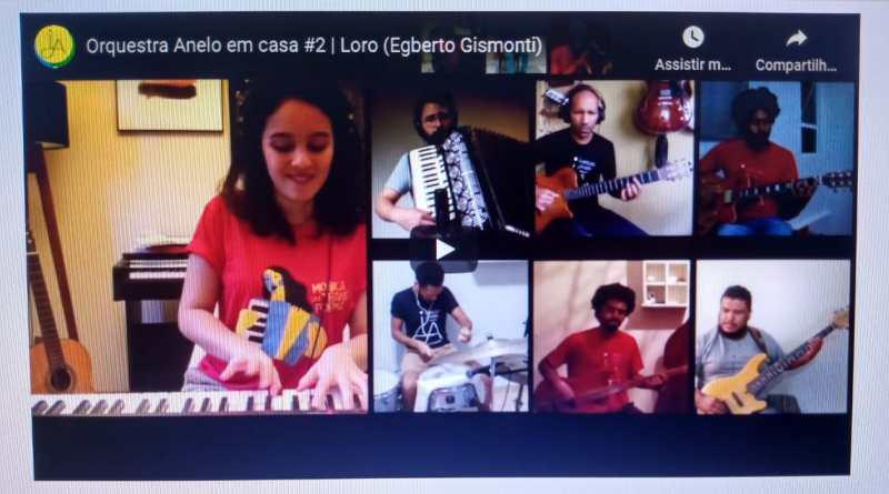 Orquestra Anelo lança vídeo com a composição Loro, de Egberto Gismonti