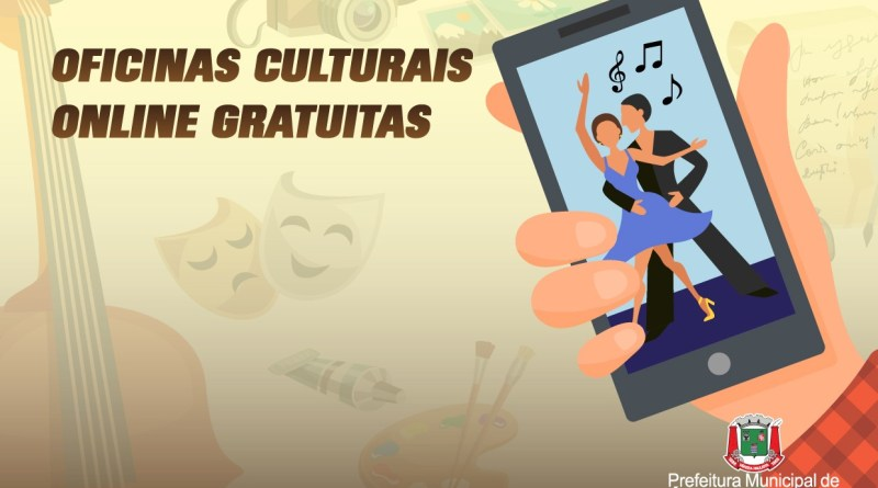 oficinas culturais online