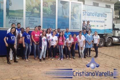 Foto da Unidade Móvel da Fundação Cristiano Varella