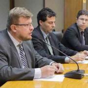 Foto de reunião do CMN