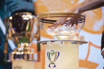 Foto do troféu da Copa do Brasil