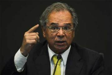 Foto do ministro Paulo Guedes (Foto: Agência Brasil)