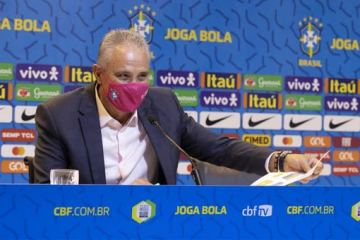 Foto do técnico Tite