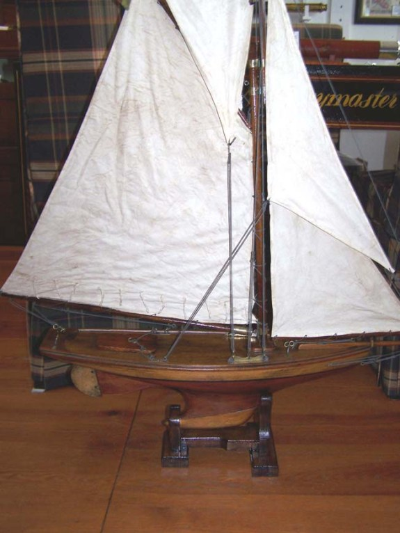 Early 20th century English Pond Boat