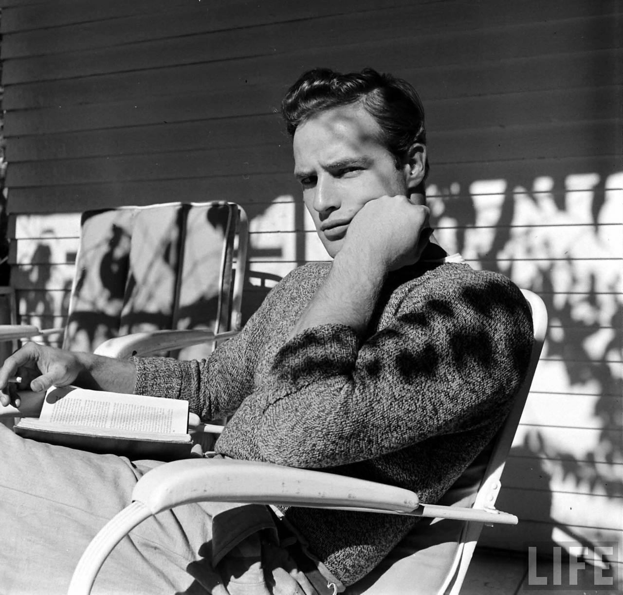 LIFE Archive | Marlon Brando in The Men | A Continuous Lean.