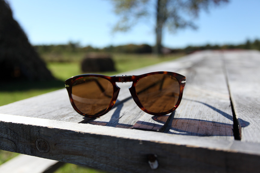 "95d6a674e8bf This fall, eyewear maker Persol is releasing a special pair of ""Steve  McQueen"" edition sunglasses. The 714 was worn frequently by McQueen (he  preferred the ..."