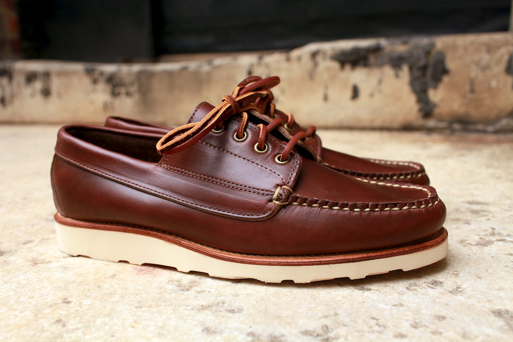 52df1e98e61 ... Vibram cristy soles and a Horween shell cordovan ( 8) beefroll penny  loafer. As you can see from these pictures