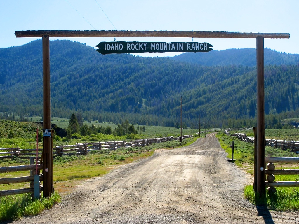 western dispatch idaho rocky mountain ranch a continuous lean