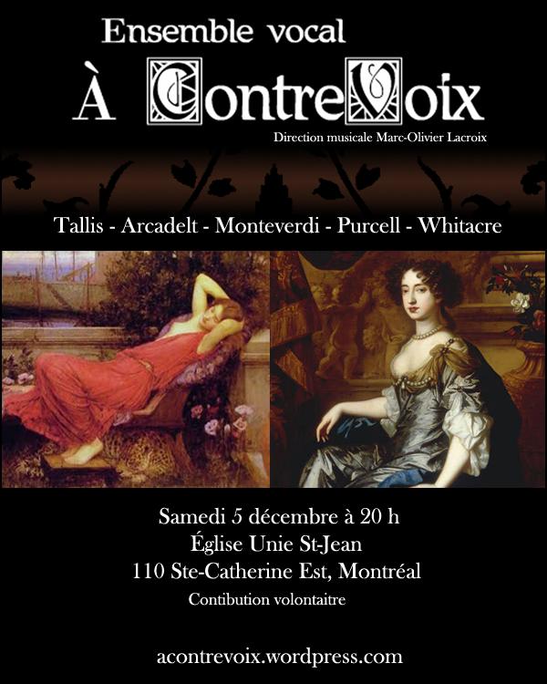 Concert 5 décembre 2009 À ContreVoix