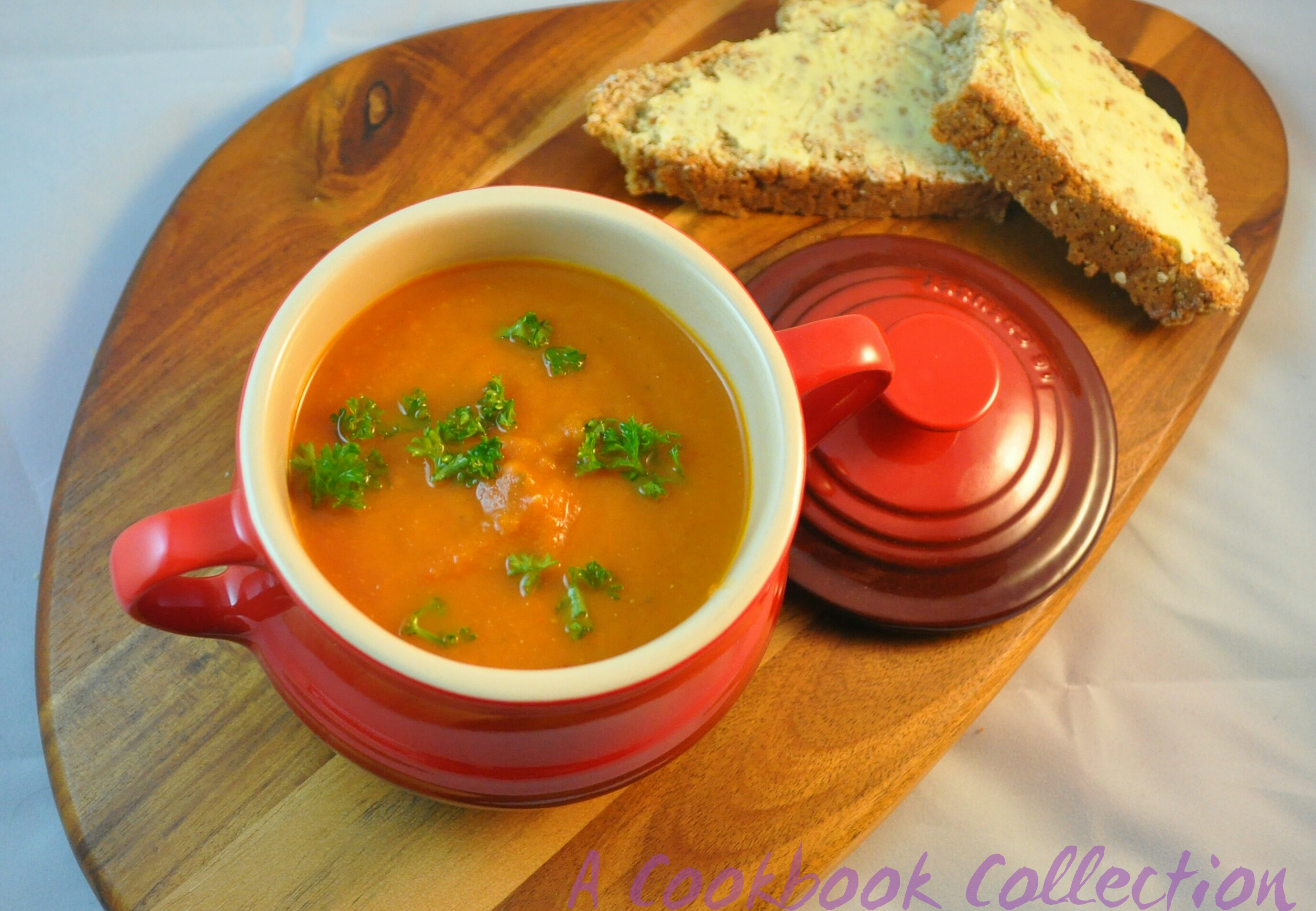 sprouted kitchen book copper faucet roasted tomato soup the cookbook recipe