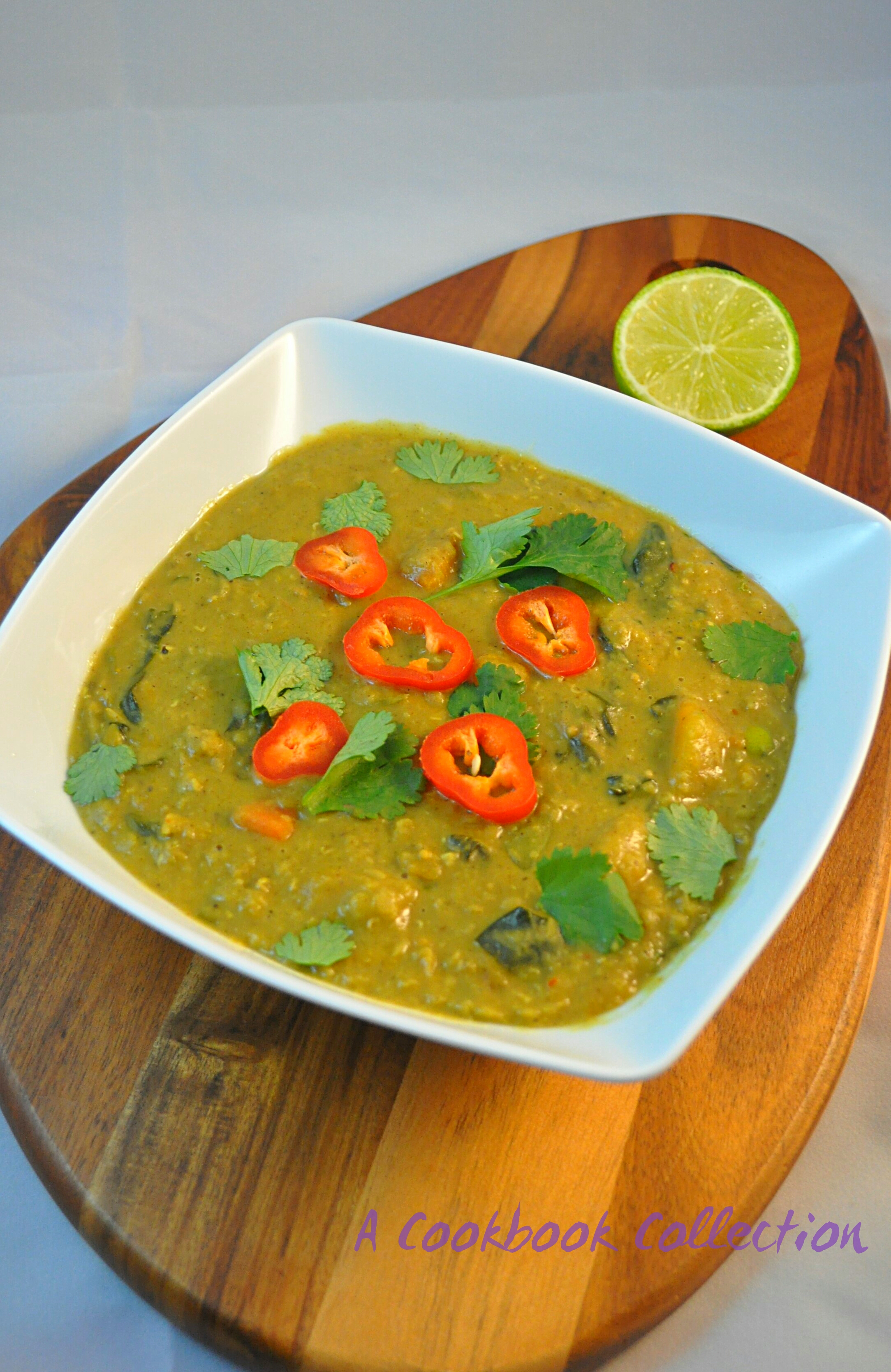 Malaysian Lentil Curry -A Cookbook Collection