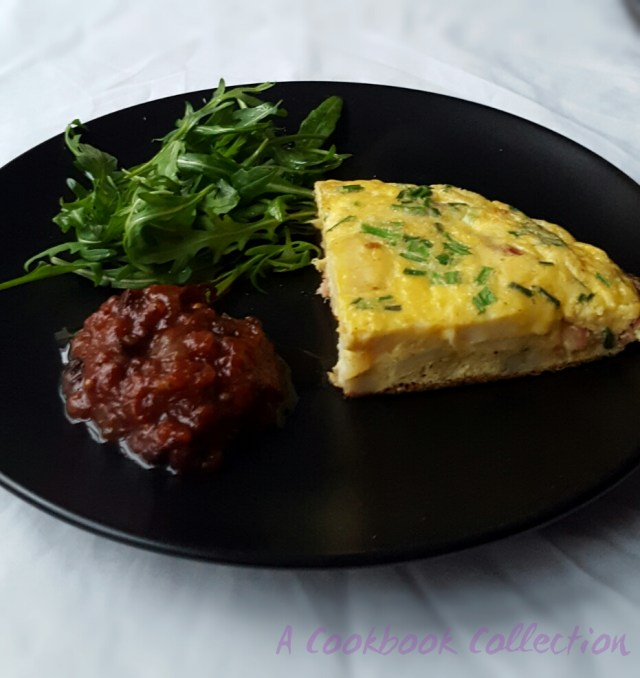 Bacon and Potato Frittata - A Cookbook Collection