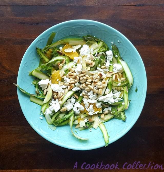 Asparagus Fennel and Orange Salad - A Cookbook Collection