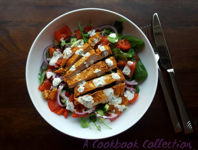 Smoked Paprika Chicken Salad- A Cookbook Collection