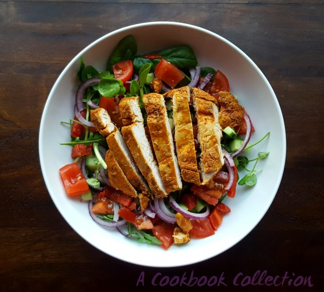 Smoked Paprika Chicken Salad -A Cookbook Collection