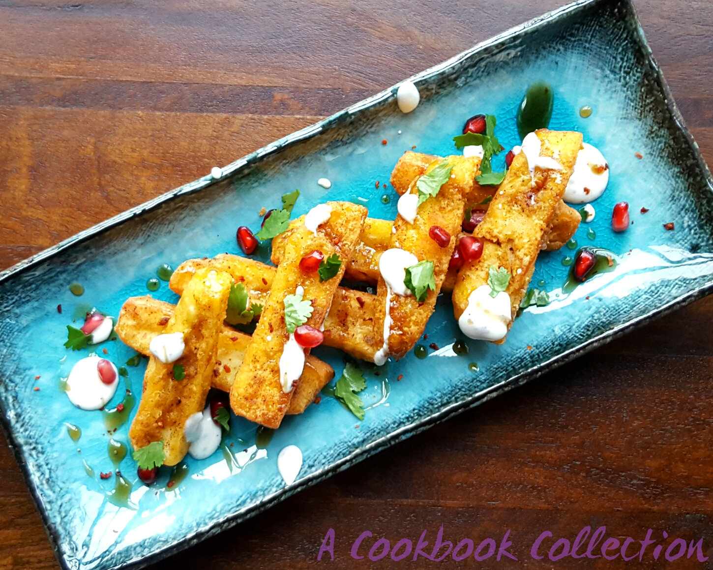 Halloumi Fries - A Cookbook Collection