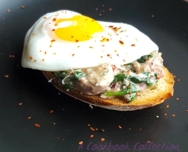 Creamy Mushrooms on Toast Egg - A Cookbook Collection
