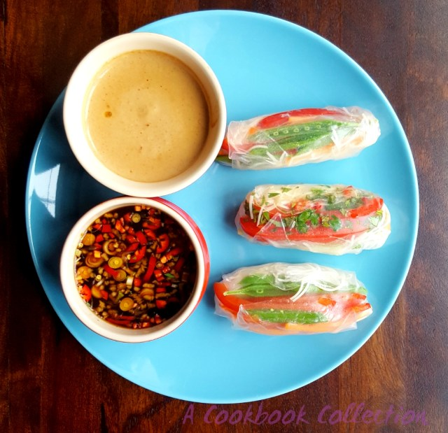 Rice Paper Rolls -A Cookbook Collection