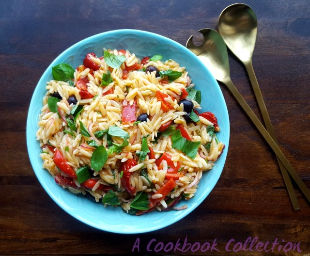 Mediterranean Pasta Salad - A Cookbook Collection