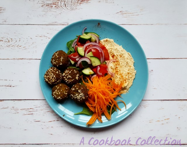 Falafels Salad - A Cookbook Collection