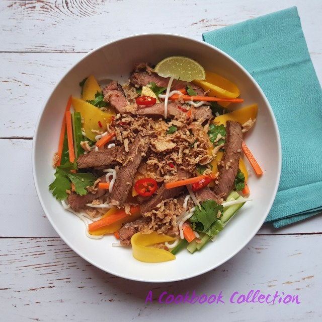 Vietnamese Beef and Mango Salad- A Cookbook Collection