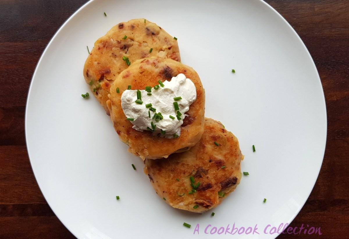 Chorizo Potato Cakes