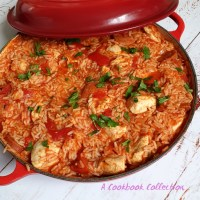 One Pot Cajun Chicken with Chorizo and Rice