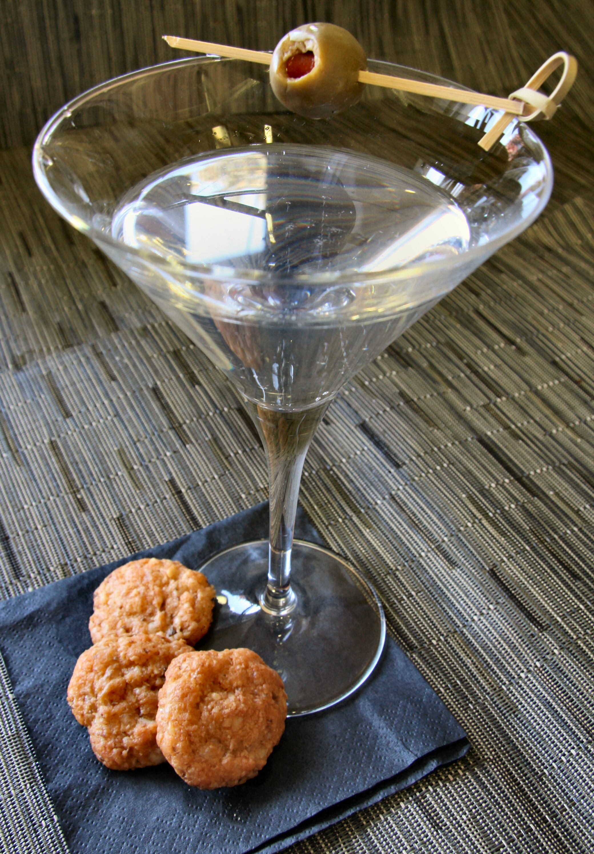 Jack and Martini Olive Coins