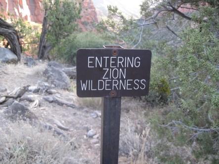 Zion Wilderness