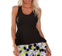 Show No Love Women's Ball Girl Flounce Tennis Skirt
