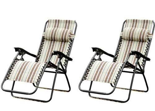 1. Outsunny Zero Gravity Recliner Lounge Patio Pool Chair