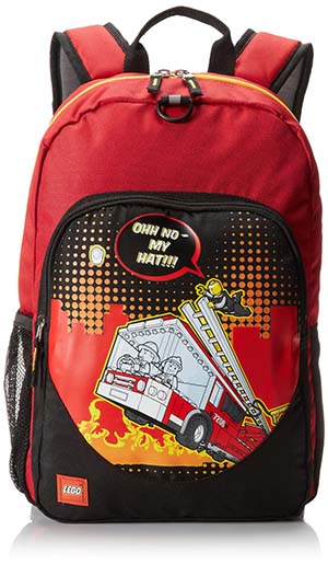 8. Lego Classic Backpack Fire City Nights