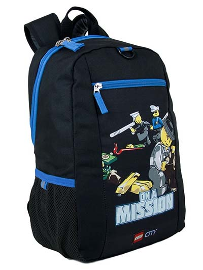 6. Carrygear Basic Backpack City Police On A Mission