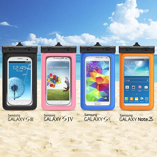 3. TETHYS Waterproof Case for Apple iPhone 6 5S 5C 5, Samsung Galaxy S6 and S6 Edge S5 S4