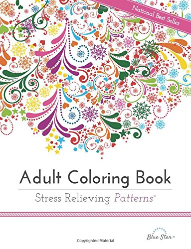 1. Adult Coloring Book: Stress Relieving Patterns