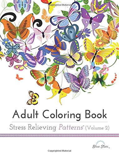 5. Adult Coloring Book: Stress Relieving Patterns Volume 2