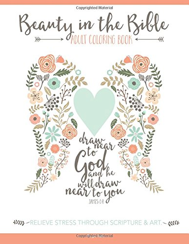 10. Beauty In The Bible: Adult Coloring Book