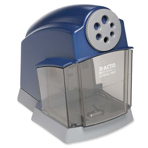 1. A-ACTO schoolpro classroom electric pencil sharpener.