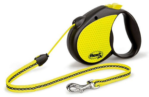 Flexi-16-Feet-Neon-Reflect-Retractable-Belt-Dog-Leash