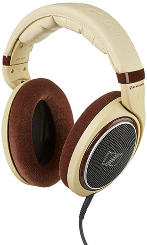 3. Sennheiser HD 598 Over-Ear Headphones