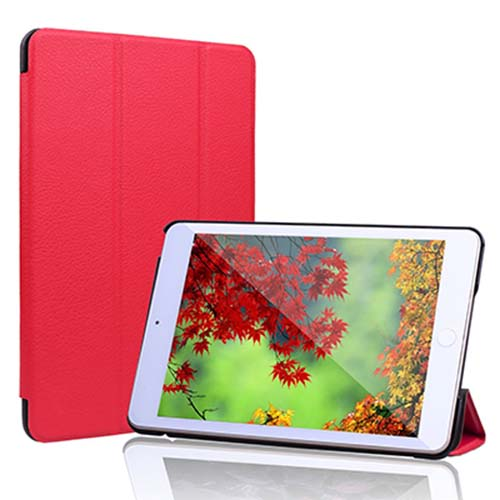 2. iPad Mini 4 Case, JETech® Apple iPad Mini 4 Slim-Fit Folio Smart Case Cover with Auto Sleep/Wake for Apple New iPad Mini 4 Released on 2015 (Red)