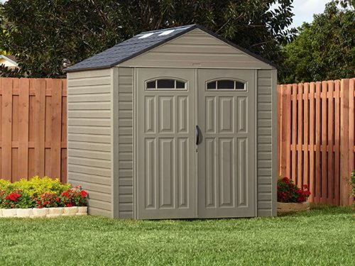 6. Rubbermaid Roughneck Seven by Seven Foot Storage Shed