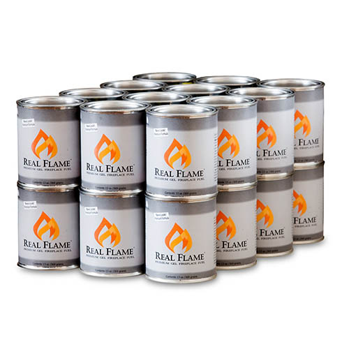 1. Real Flame Gel Fuel - 13 oz cans; 24-Pack