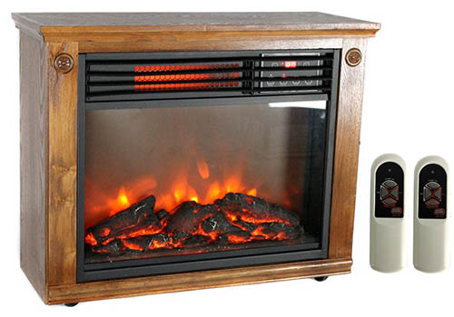 Top 10 Best Portable Fireplace Heaters For Sale (September 2017 ...
