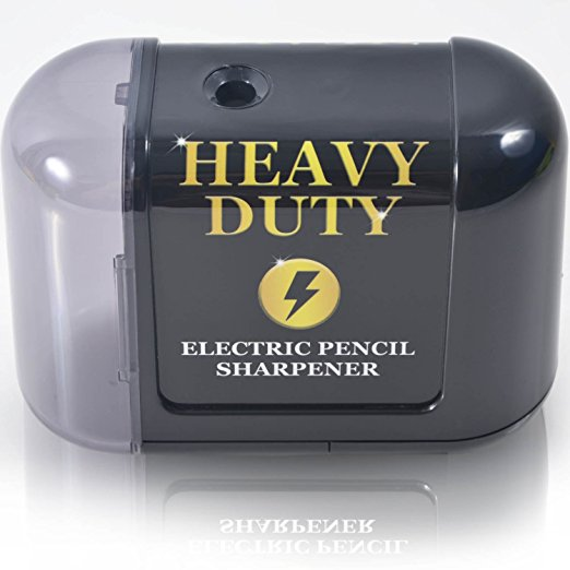4. Artist choice battery powered heavy duty helical blade pencil sharpener.
