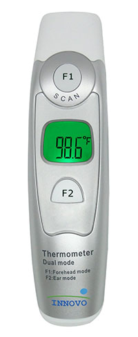 2. Innovo Forehead and Ear Thermometer