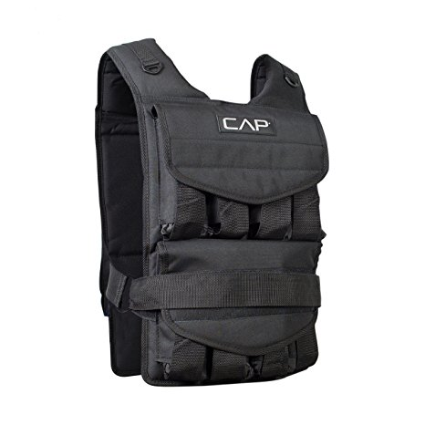 4. CAP Barbell Adjustable Weighted Vest