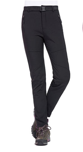 2. Softshell Fleece Snow pants
