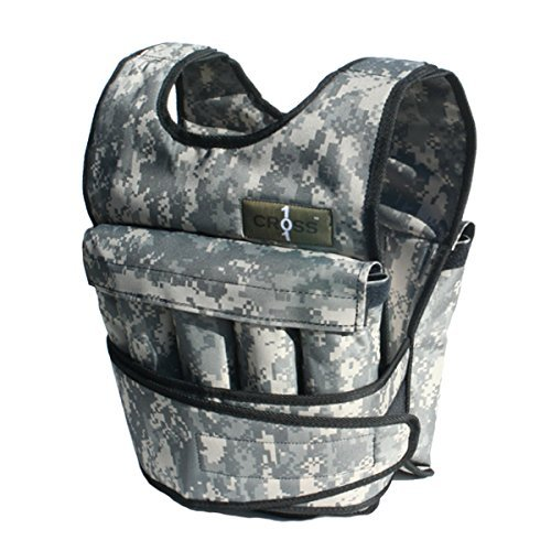 10. Cross101 Adjustable Camouflage Weighted Vest
